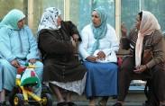 מהגרות מוסלמיות (תצלום: גרג רובינס)