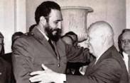 קסטרו עם ניקיטה חרושצ'וב, 1961