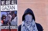 הפגנה נגד ישראל בלונדון (תצלום: כריס ג'ון בקט)