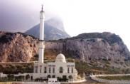 מסגד בקצה הדרומי של גיברלטר