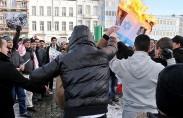 Anti-Israel demonstration in Brussels (photo: Han Soete)