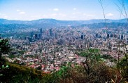 Caracas seen from Mount Avila (photo: Yiyo)