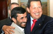 Chavez with Ahmadinejad