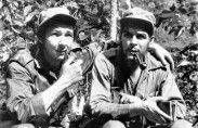 Raul Castro with Che, 1958 (photo: Museo Che Guevara)