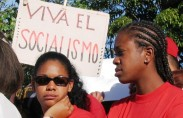 December 2nd parade in Havana (photo: Adi Schwartz)