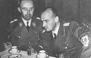 Himmler and Hans Frank, 1943 (photo: Library of US Congress)