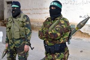 Hamas in Gaza (photo: Mateus)