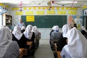Girls school of UNRWA in Gaza (photo: Begemot)